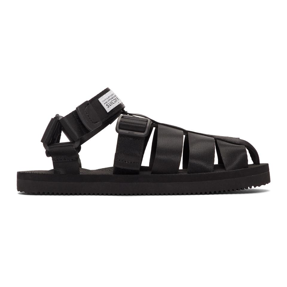 60f361a949b6 Lyst - Suicoke Black Shaco Sandals in Black for Men