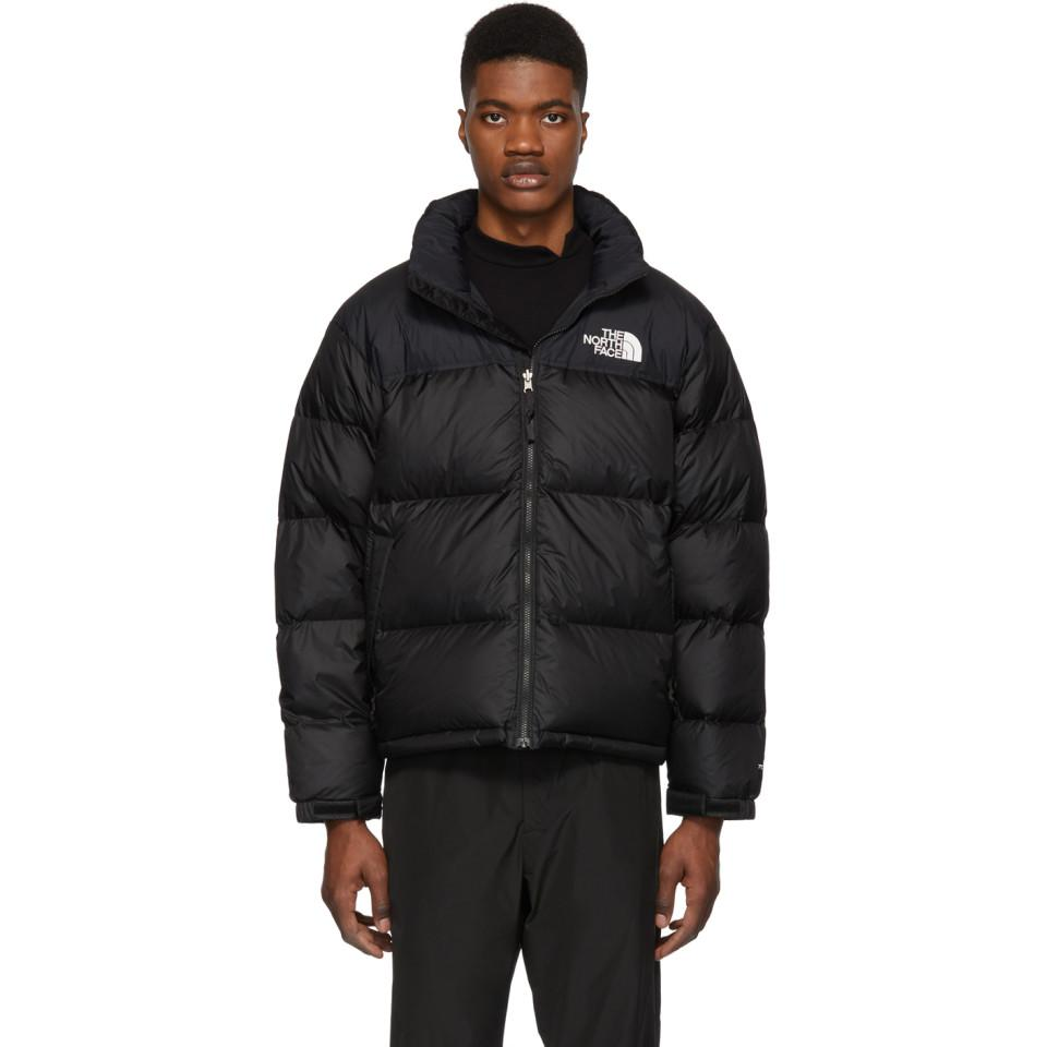 The North Face Black Down 1996 Retro Nuptse Jacket in Black for Men ... f24efada5