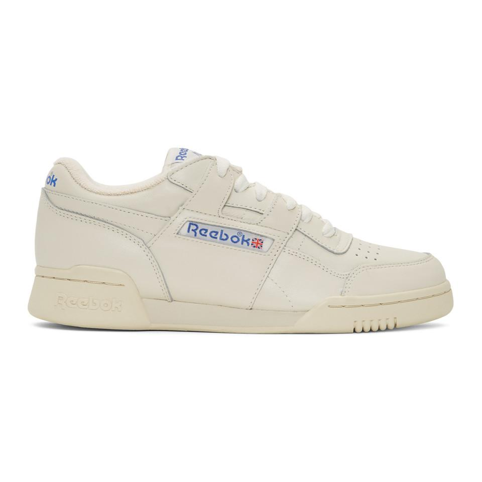 58aa73906ce Reebok - White Workout Plus 1987 Tv Sneakers for Men - Lyst. View fullscreen