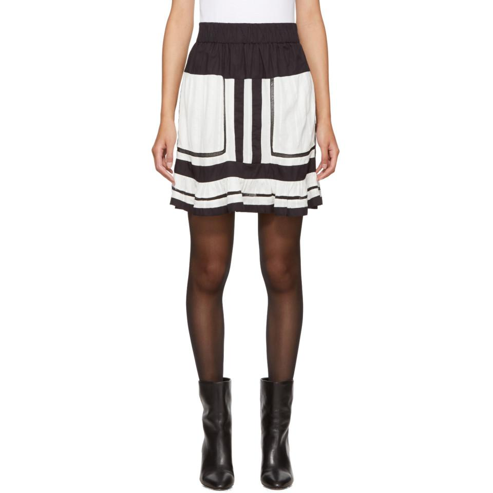 Green Rhoda Miniskirt Isabel Marant Official Online Free Shipping Top Quality Sale Affordable Sale Wholesale Price Fashionable Cheap Price qEYBO6