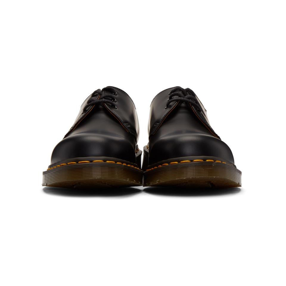 Comme des Garçons Leather Black Dr. Martens Edition 1461