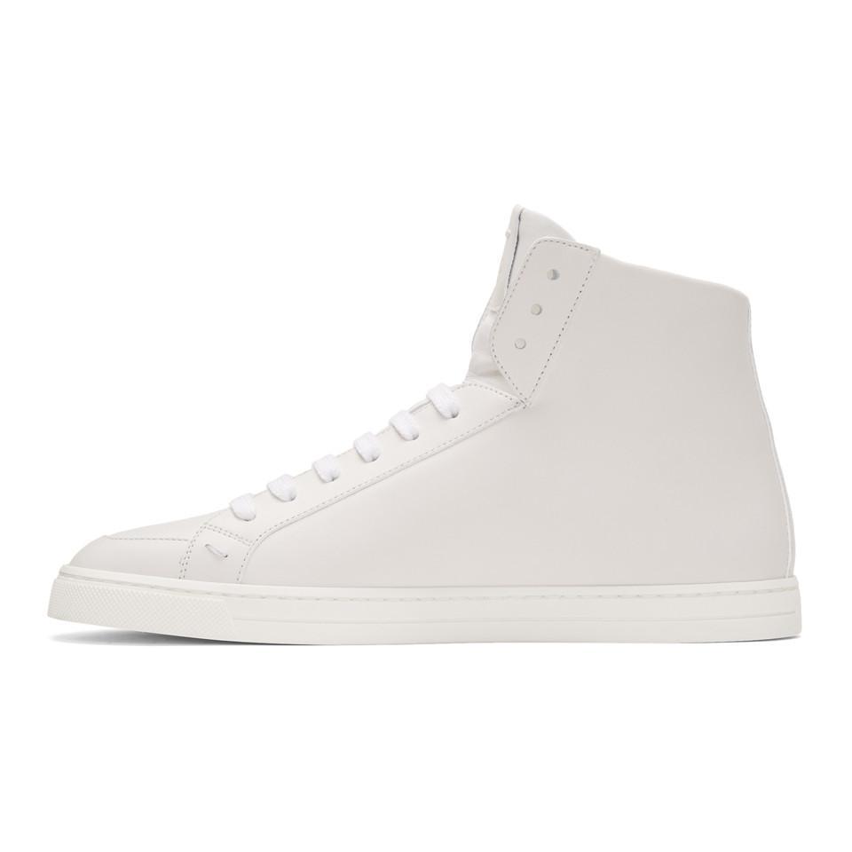 Fendi Butterfleyes High-Top Sneakers 0PxrgpE