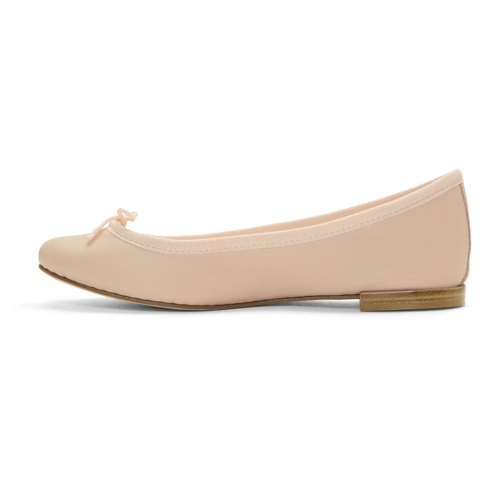 Repetto Pink Nappa Cendrillon Ballerina Flats 5Fq6u8w
