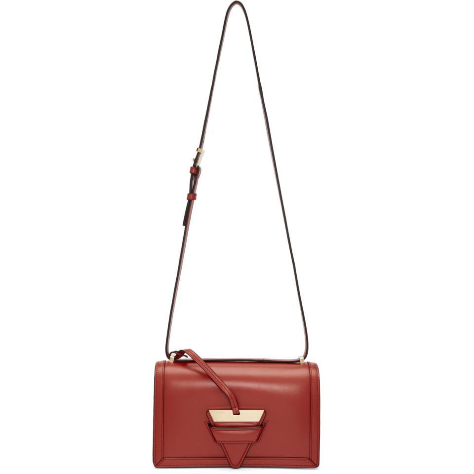 Red Large Barcelona Bag Loewe LTBcTNg7c