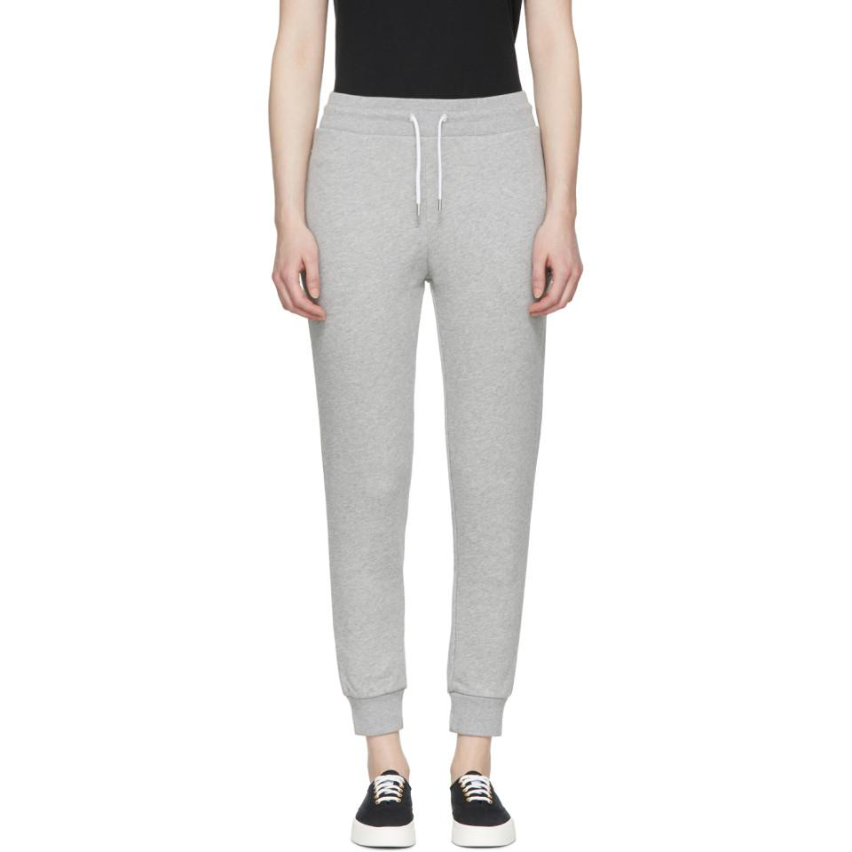 Cheap Sale Clearance Store Black Classic Tricolor Fox Lounge Pants Maison Kitsuné Buy Cheap How Much gYqCQjawlT