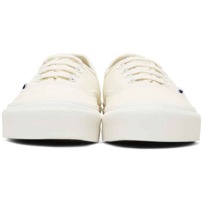 94bd0eec47be Lyst - Vans Off-white Og Authentic Lx Sneakers in White for Men