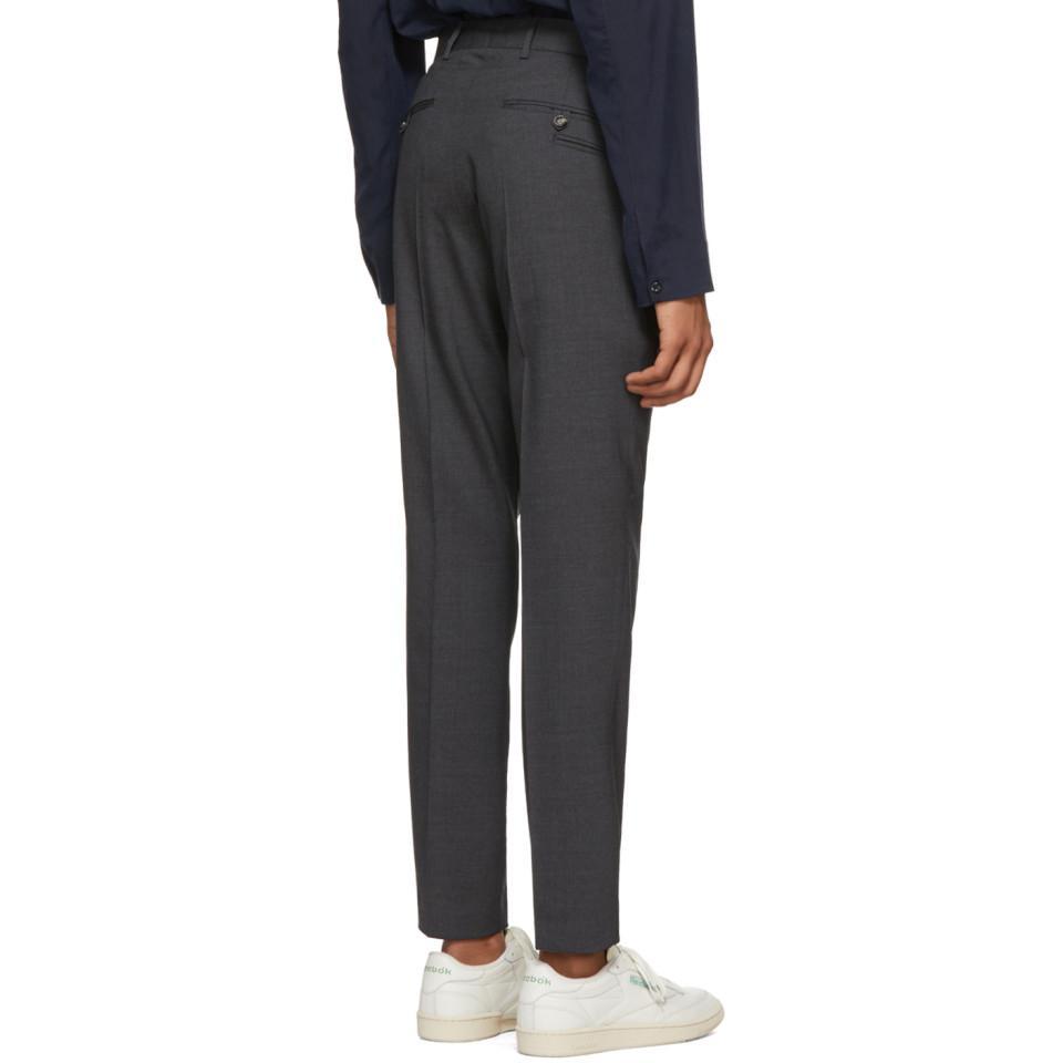 Grey Wool Herris Trousers 2018 New Sale Online Sast Sale Online 2018 Unisex Cheap Price DBnFlN