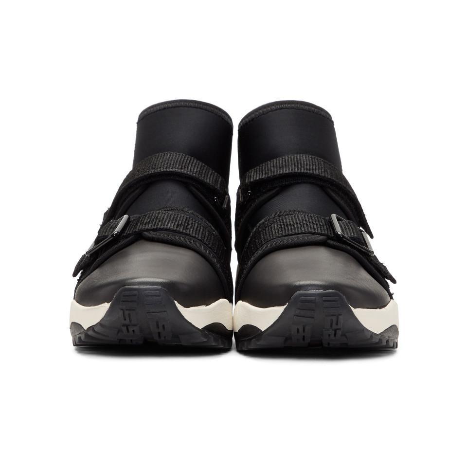 Y'S Neo Plain High-Top Sneakers 3UKnyMw9yG
