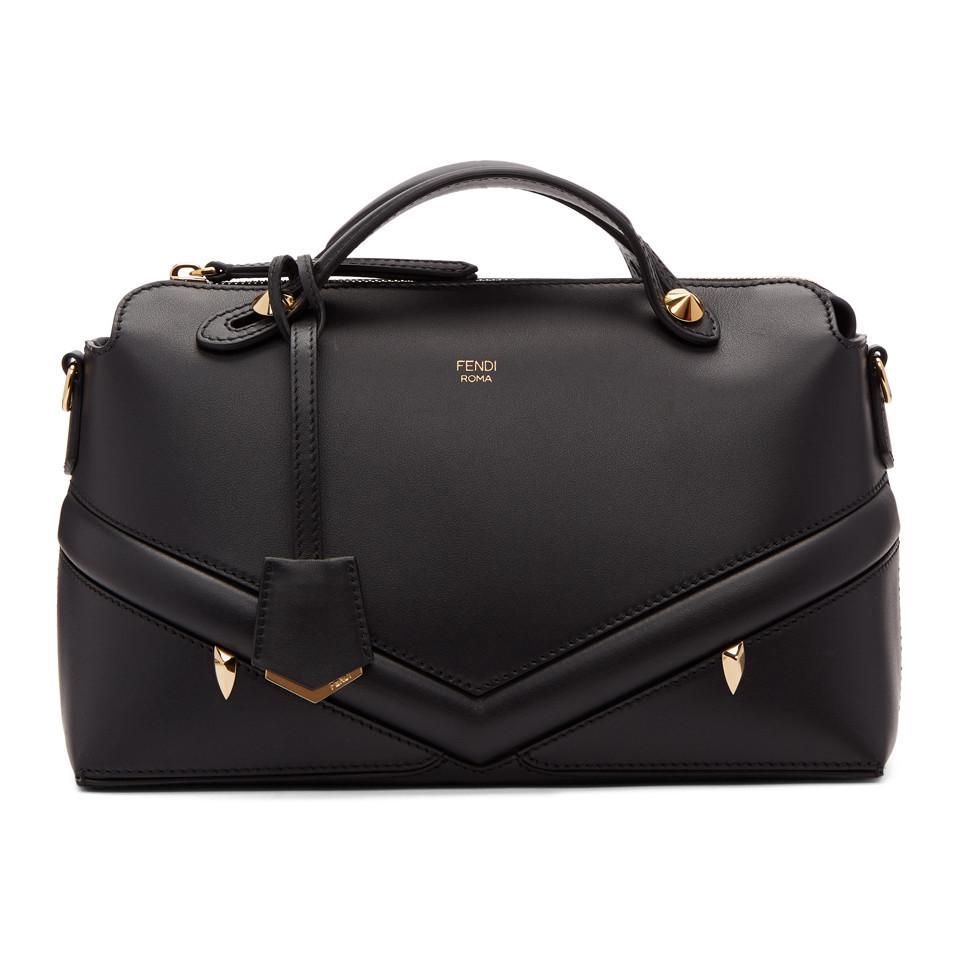 Lyst - Fendi Black Medium Bag Bugs By The Way Bag in Black 4661d20415f9b