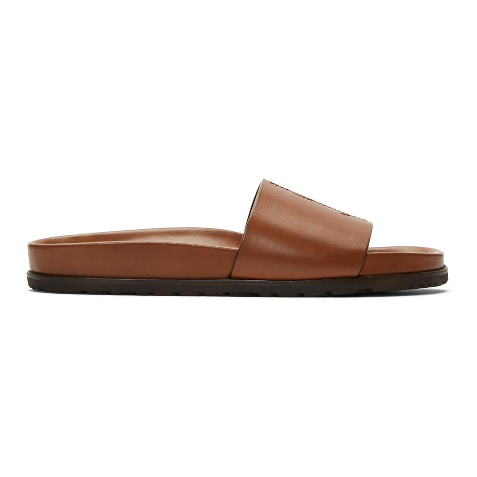 Saint Laurent Jimmy Slide Sandals PaZfHDam