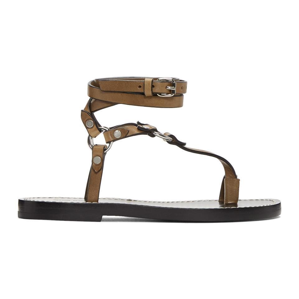 Isabel Marant Joxy Elegant O-Ring Sandals 5uWoTSu2I