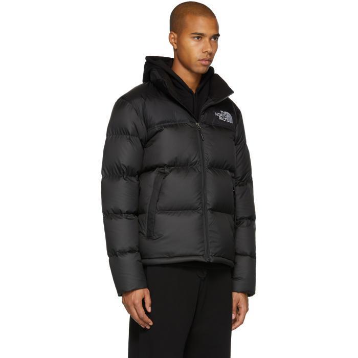 Previously sold at  SSENSE · Men s The North Face ... Asphalt Grey Falcon  Brown The North Face Nuptse Jacket KCIPEM 83b968e6a