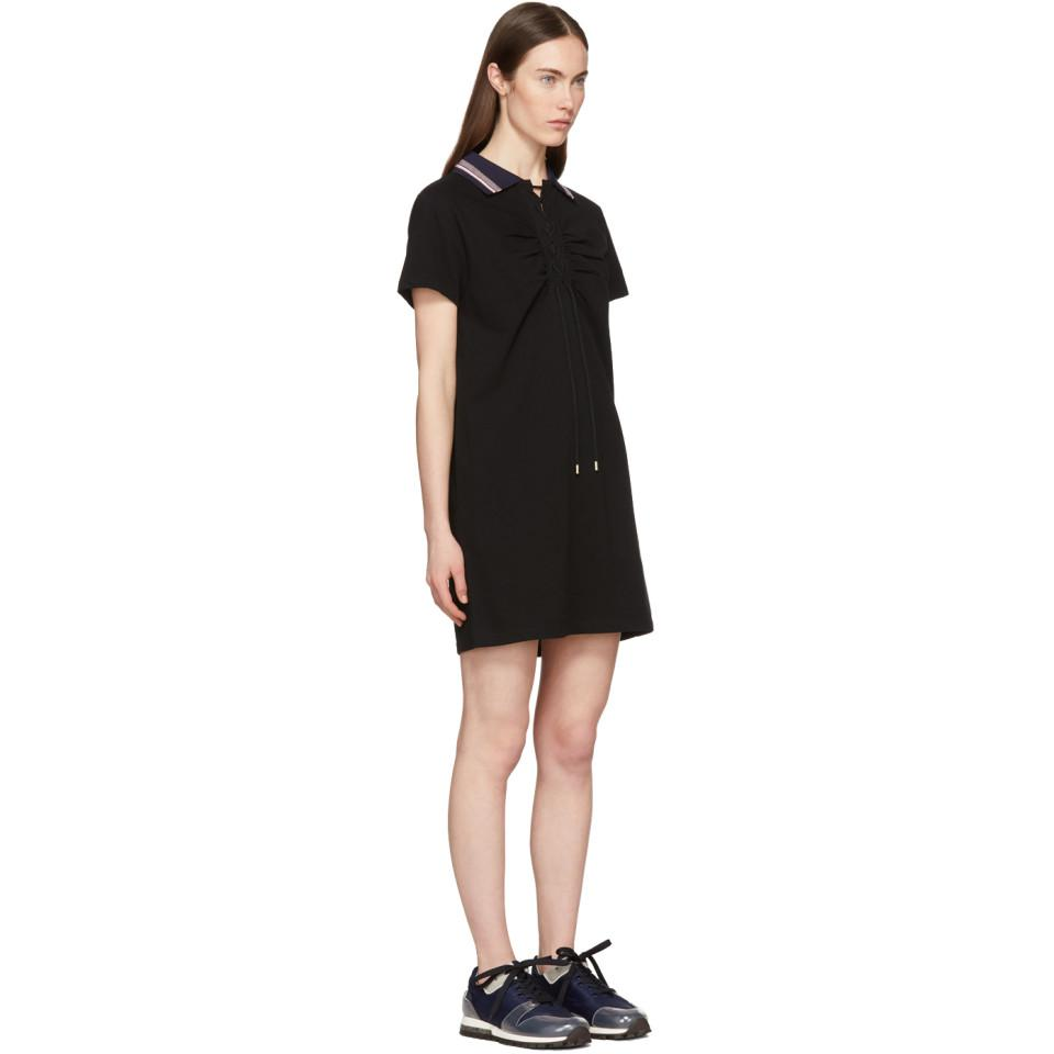 Black Polo Dress Carven New Styles Sale Online Cheap Sale High Quality Online Store Cheap EahUbiSwO
