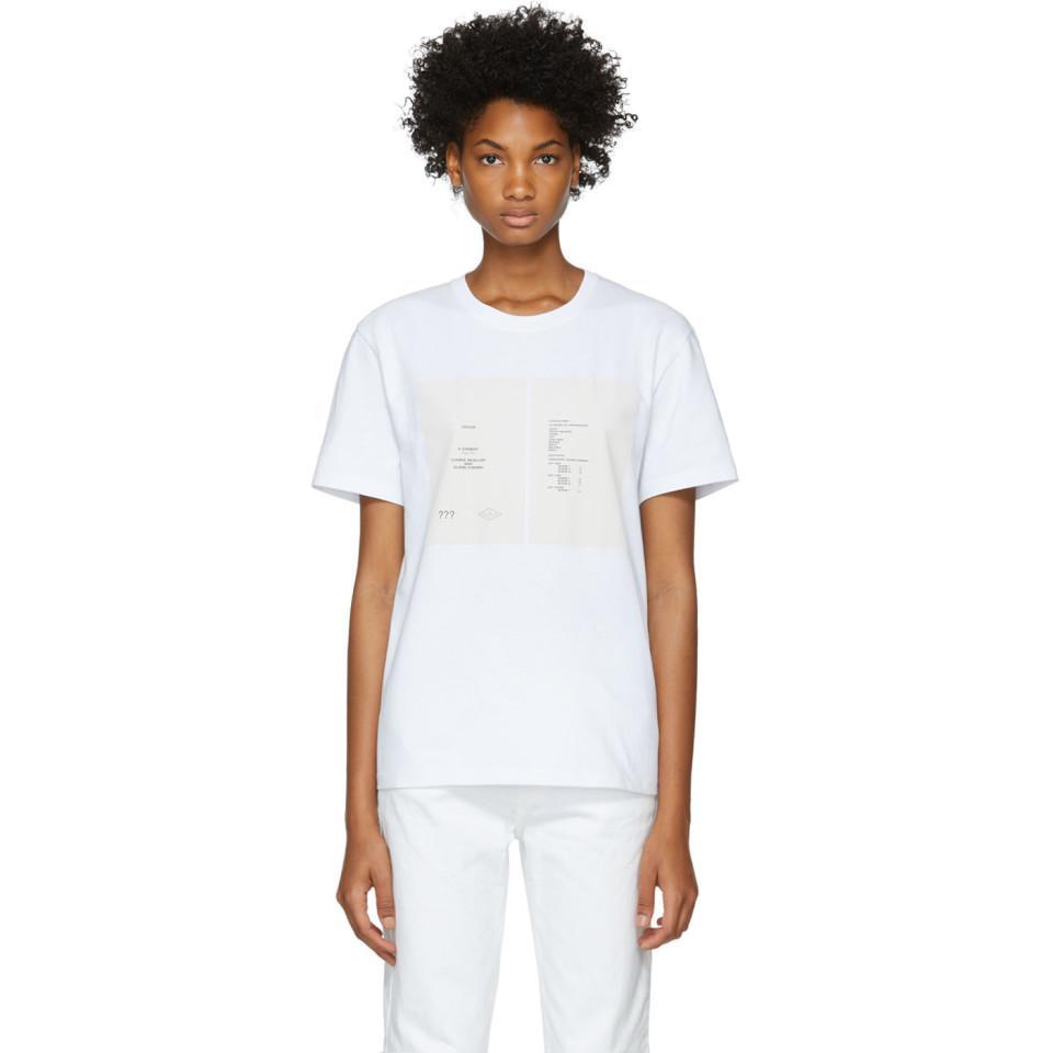 White Drugs Cover Slim Fit T-Shirt