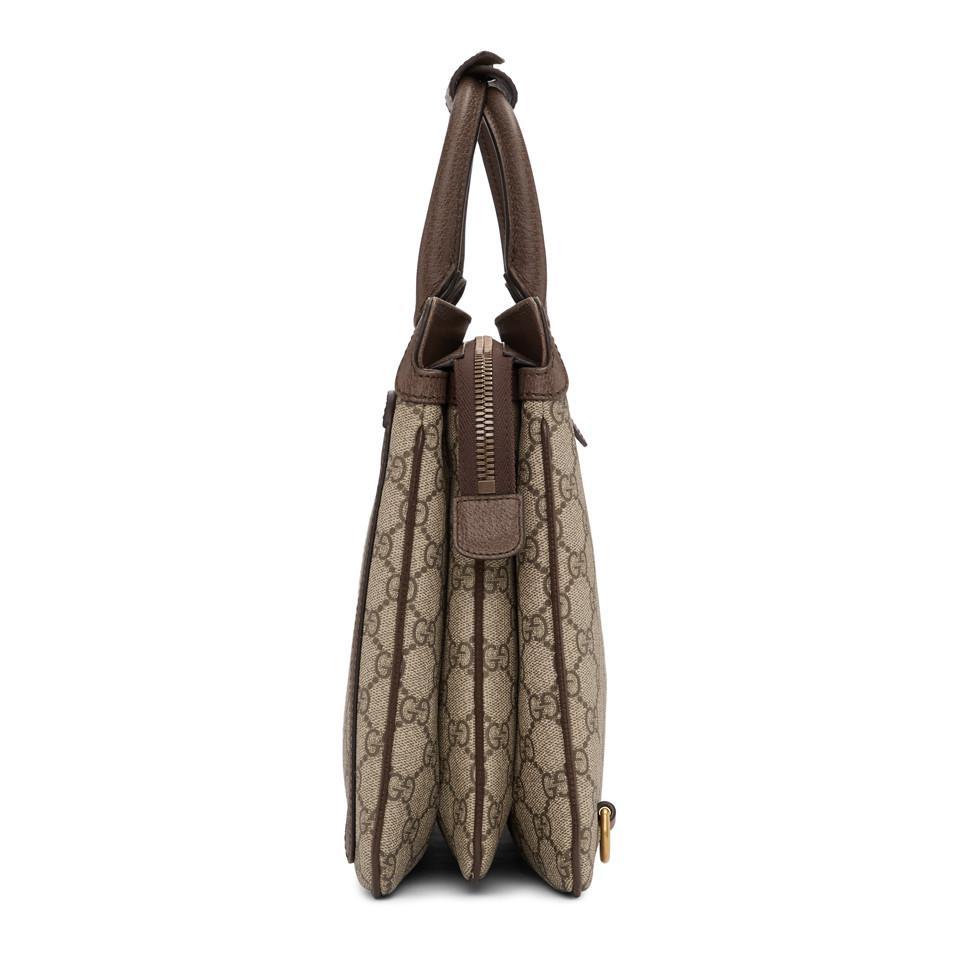 01b3ea2b31c4 Gucci - Brown Beige GG Supreme Ophidia Backpack - Lyst. View fullscreen