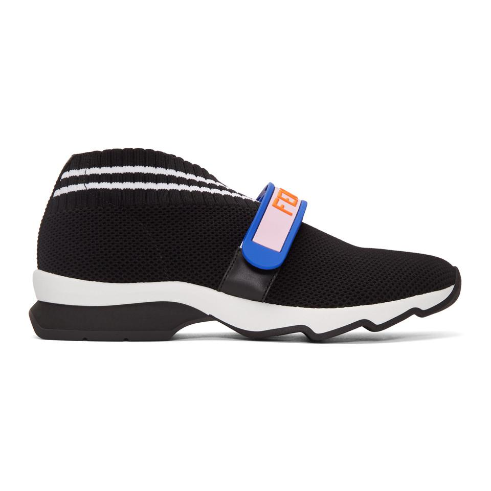 FendiVelcro Knit Sneakers