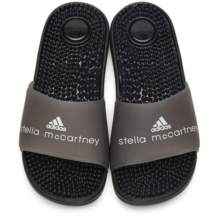 916f05bd8c3 ... Lyst - Adidas By Stella Mccartney Black Adissage Slide Sandals in Black  cozy fresh c623c fa8a6 ...