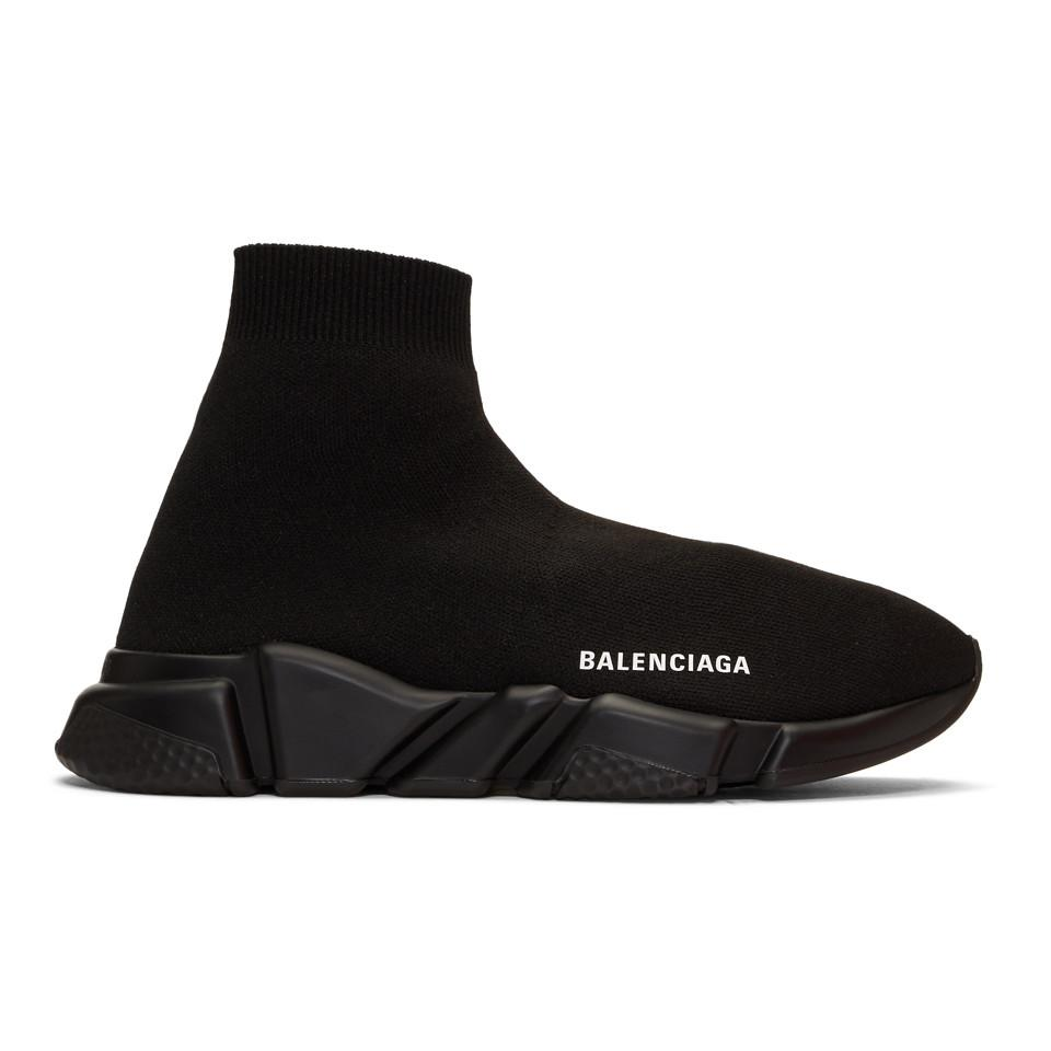 7daee40768bb Lyst balenciaga speed sneakers in black for men save jpg 960x960 Balenciaga  black