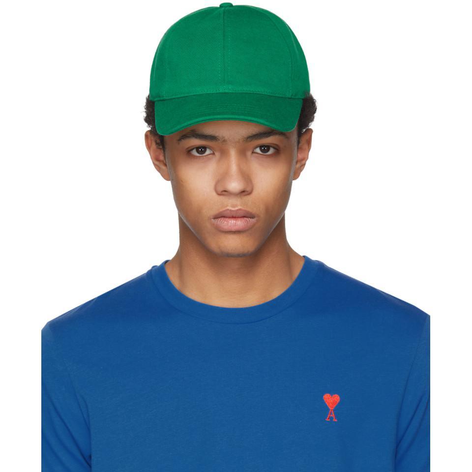 Green Twill Cap Ami gXvJAtydhQ