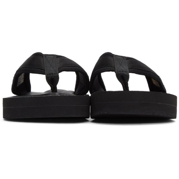 9dce27b5b444 Suicoke Black Tono V2 Flip Flop Sandals in Black for Men - Lyst