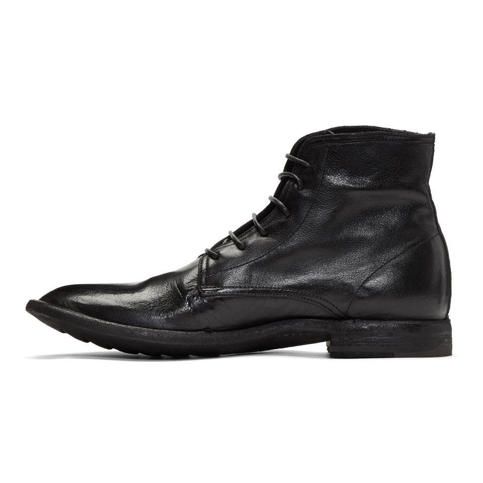 Officine Creative Black Standard 7 Boots im5rY9