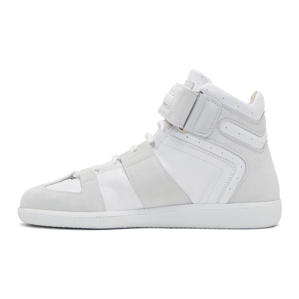 White Velcro Wrestler Sneakers Maison Martin Margiela iDYv0