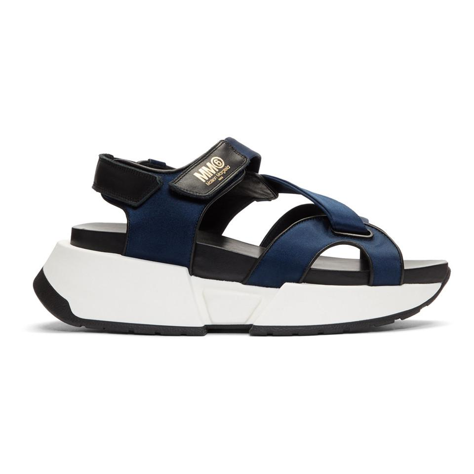sale cheap prices cheap clearance store MM6 Maison Margiela MM6 by Maison Martin Margiela Suede Slide Sandals genuine cheap online gYO25CY