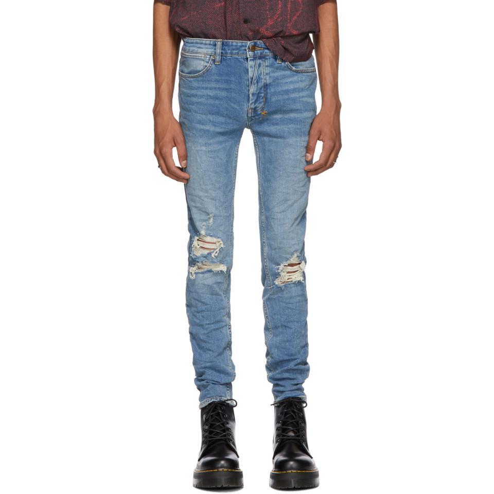 139181aae82 Ksubi Blue Van Winkle No Glory Jeans in Blue for Men - Lyst