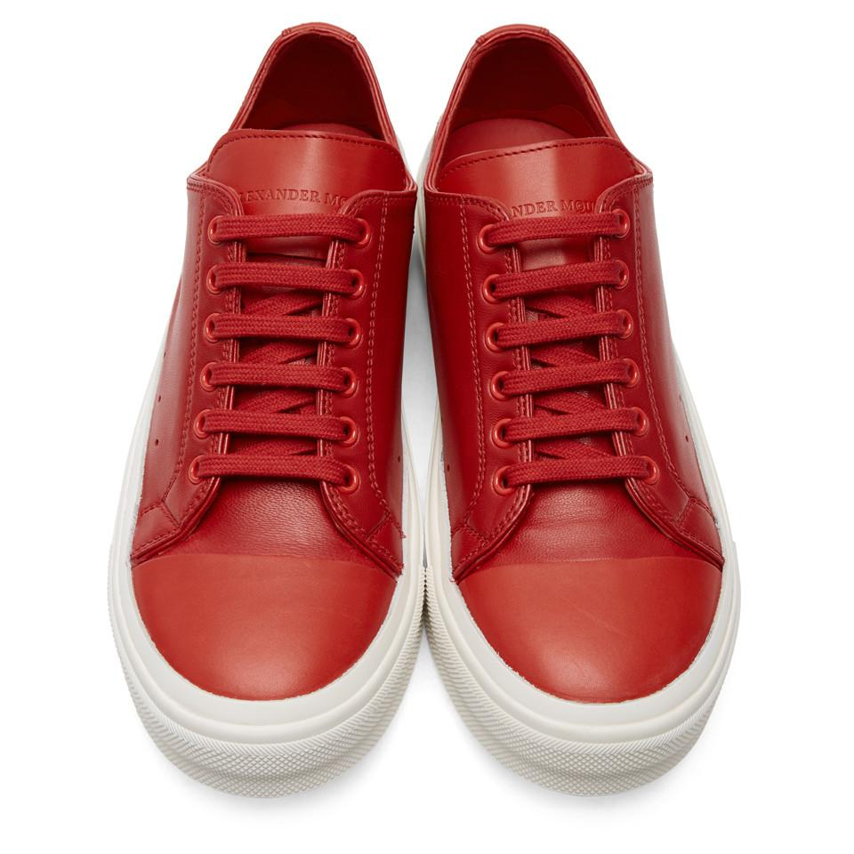 Cupsole sneakers - Red Alexander McQueen rn6pA