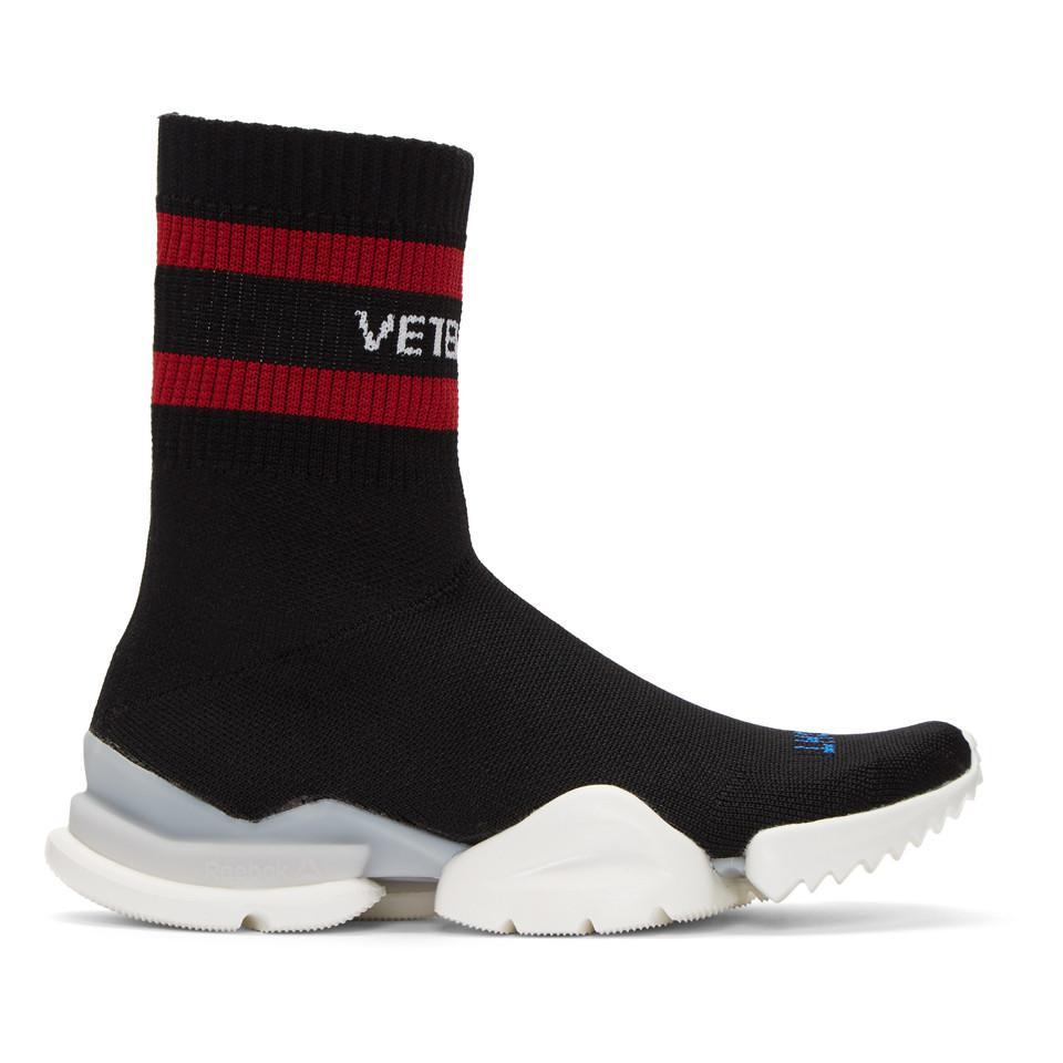 Vetements White Reebok Edition Sock Pump High-Top Sneakers exKsPpAeo4