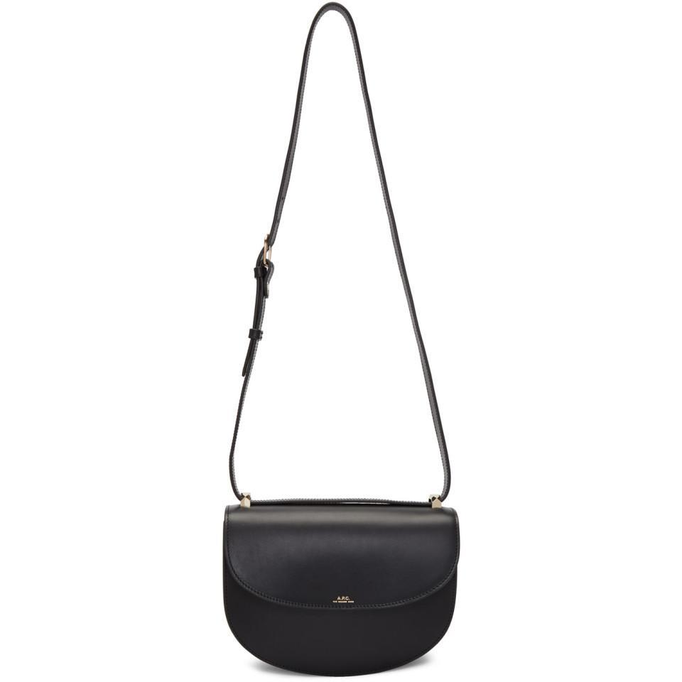 Black Geneve Flap Bag A.P.C. VVUePGS1zU