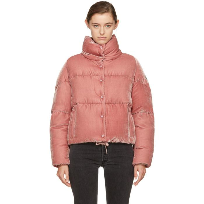 f5106e791 low price moncler jacket pink new album 75a5e 7bfde