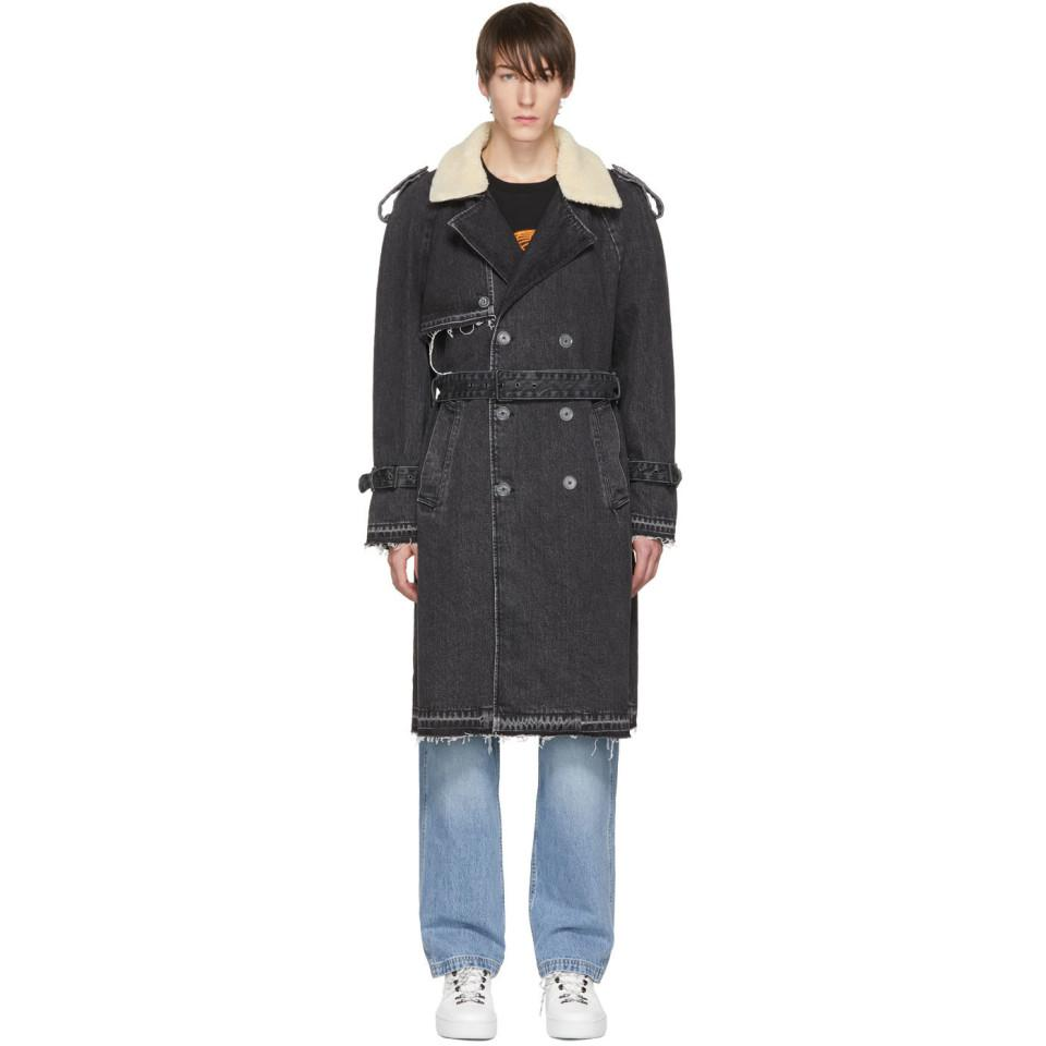 eec2f441 Off-White c/o Virgil Abloh Black Levis Made And Crafted Edition ...