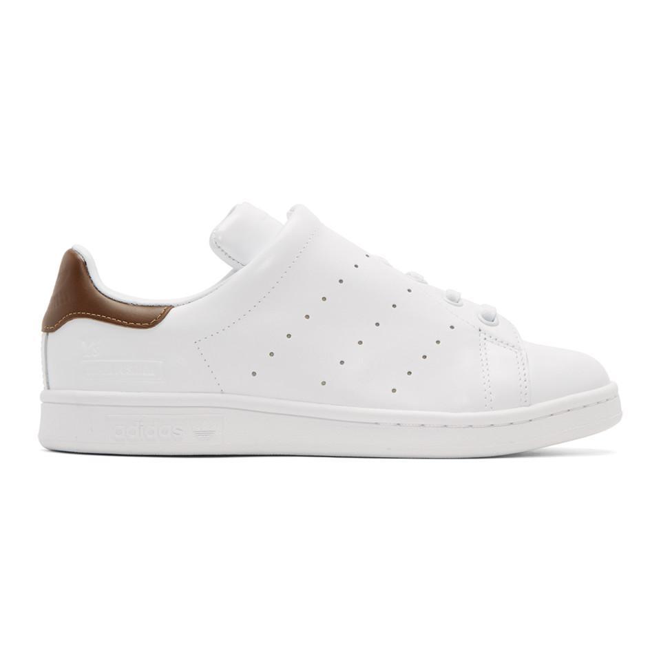 eabe4ca1b Lyst - Y s Yohji Yamamoto White Adidas Originals Edition Diagonal ...