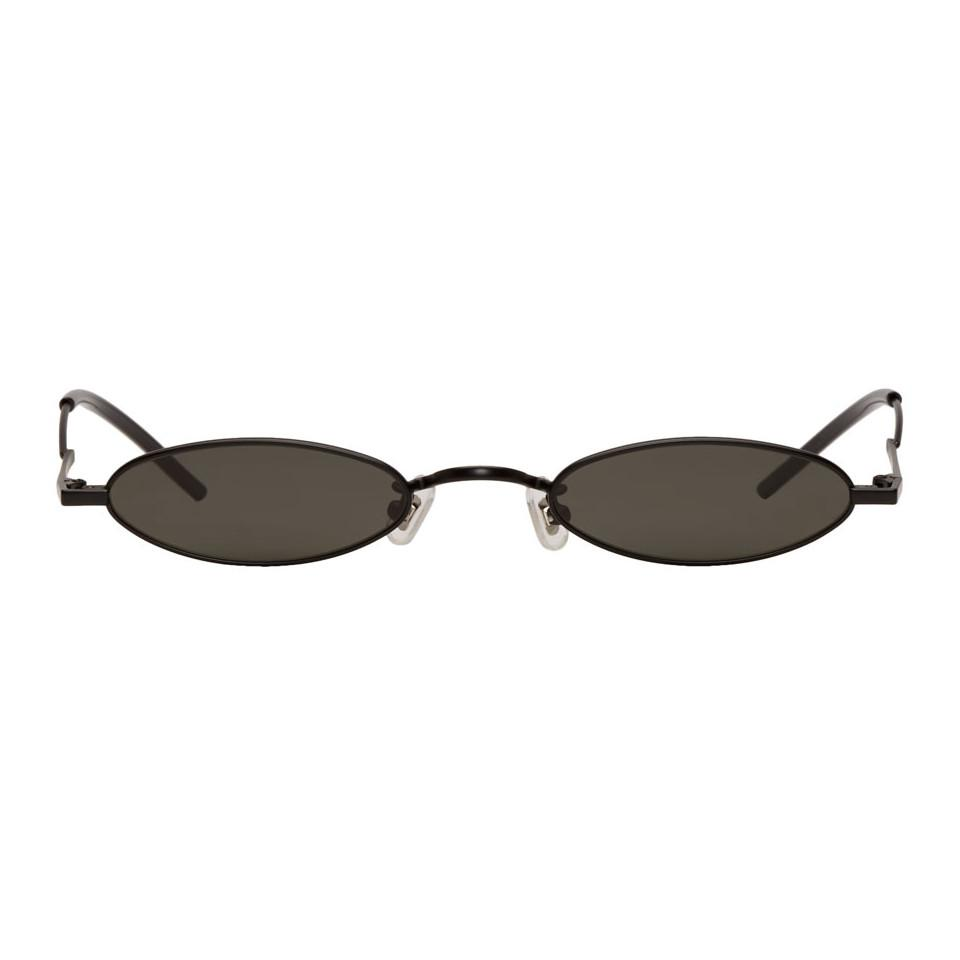 ff67e842a58 Gentle Monster - Ssense Exclusive Black Vector Sunglasses for Men - Lyst.  View fullscreen