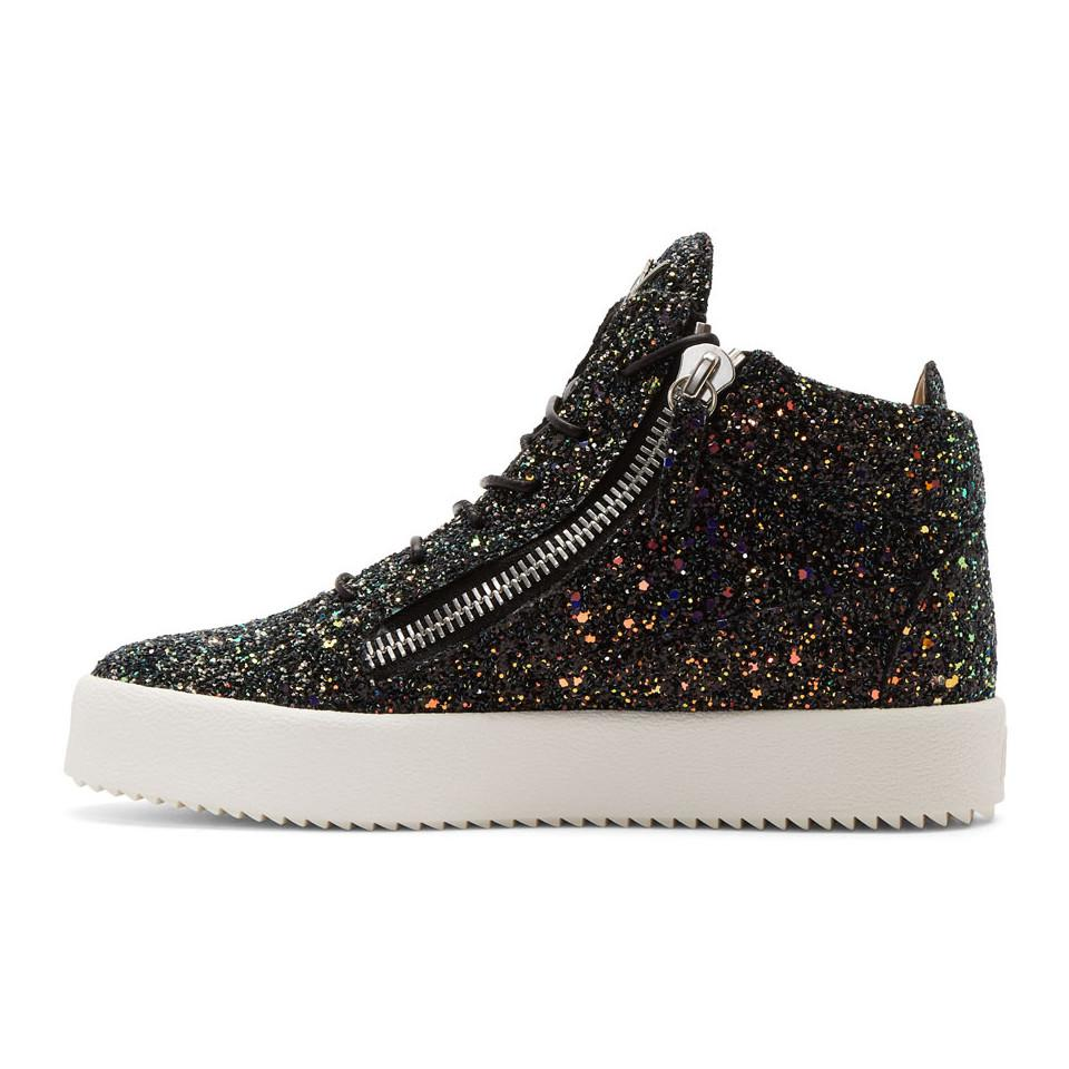 Black Glitter May London Sneakers Giuseppe Zanotti GHvpWCPd3a