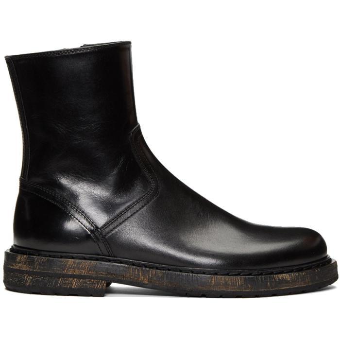 Ann Demeulemeester Black Felix 5 Boots