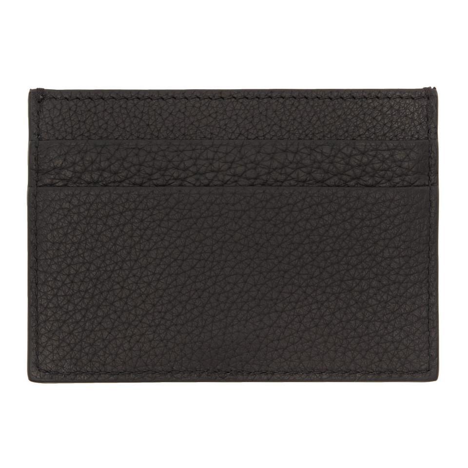 Lyst - Porte-cartes noir Medusa Versace pour homme en coloris Noir a5e14934ab3