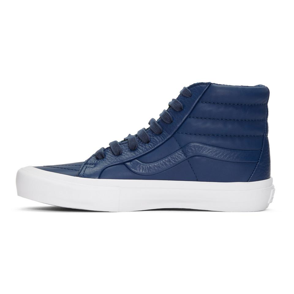 Navy Stitch and Turn Sk8-Hi Reissue ST Sneakers Vans vb9U7FkE