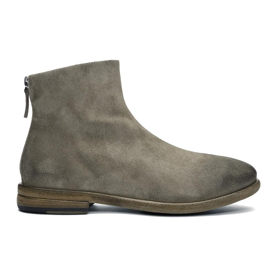 Marsèll Grey Listolo Invernale Boots browse discount 2014 new JRXcQ6W