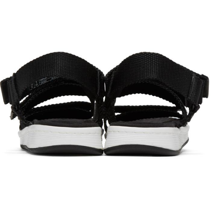 Lyst Dr Martens Black Maldon Sandals In Black For Men