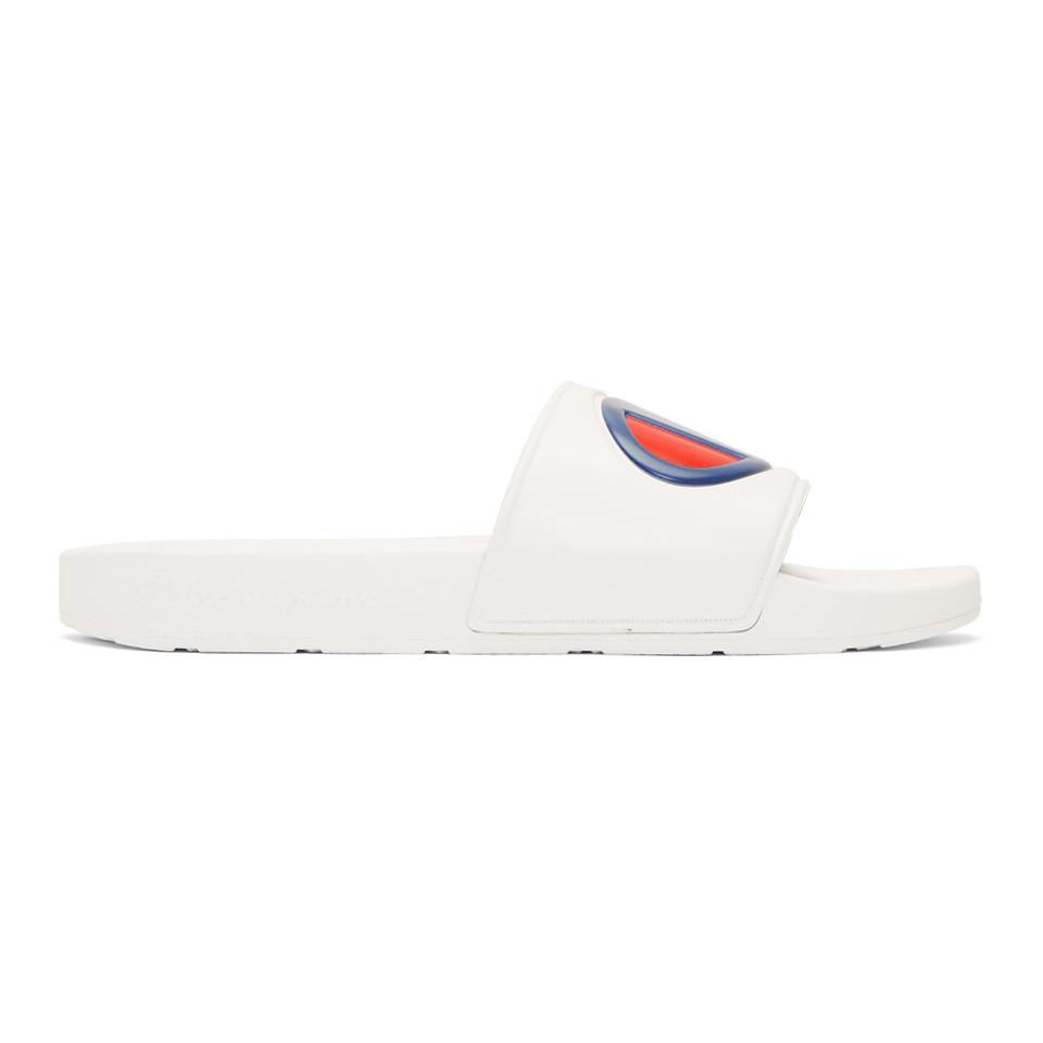 3544560ef3291b Champion Ipo White Mens Sandals in White for Men - Lyst