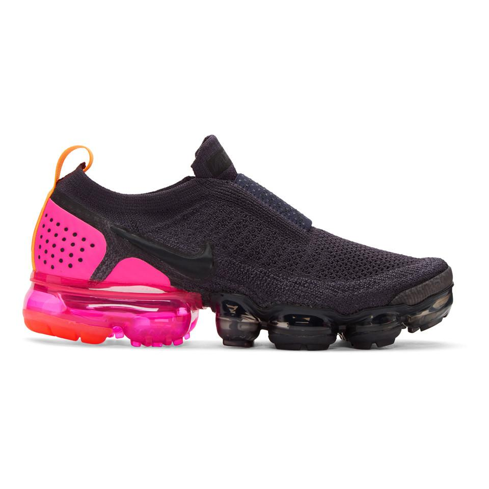 3ad6c953cba6 Nike Navy Air Vapormax Flyknit Moc 2 Sneakers in Blue - Save ...