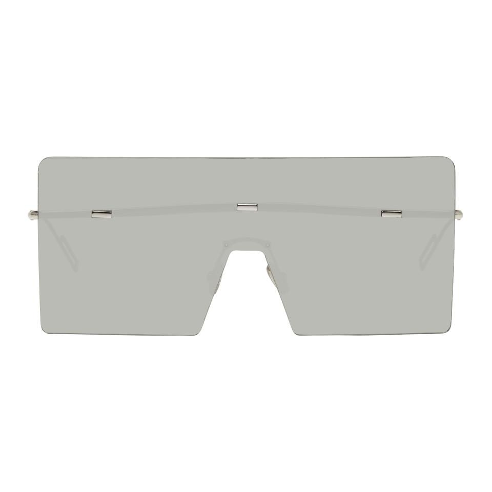 cca59287ac9c2 Silver Hardior Shield Sunglasses Dior homme Dior and Products