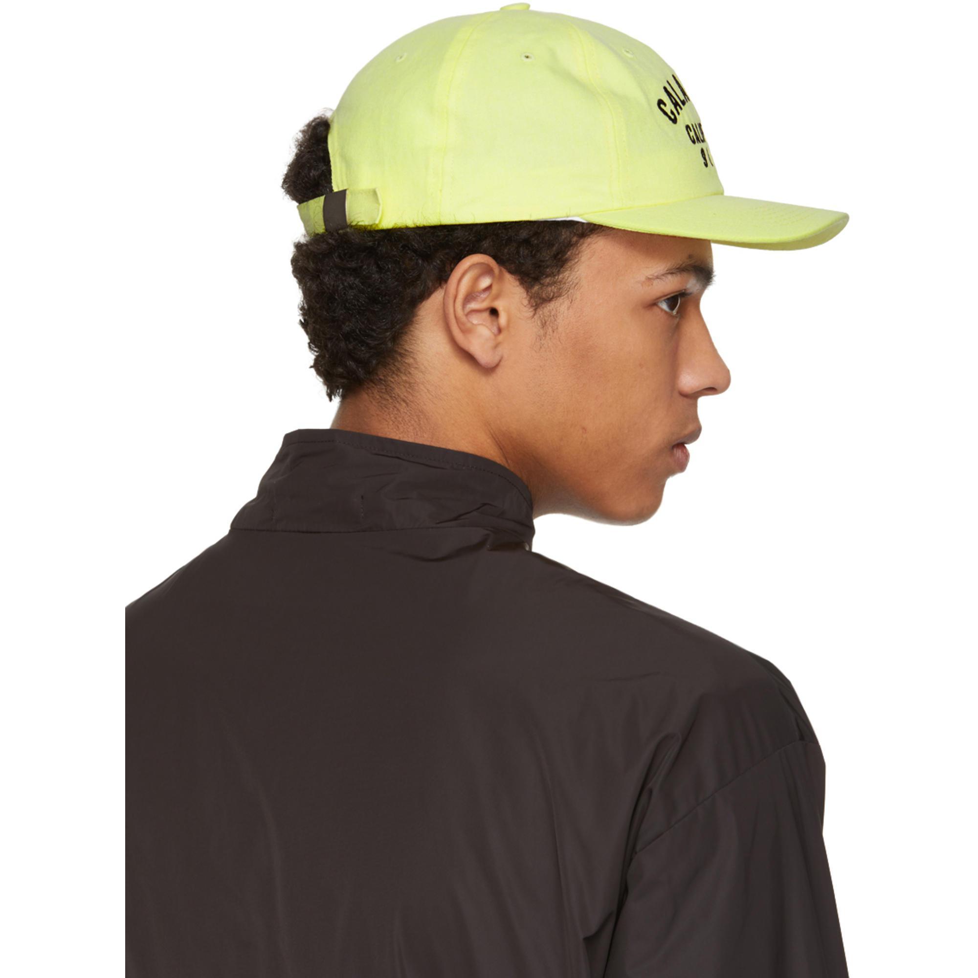 b2cee08cd57 Lyst - Yeezy Yellow Calabasas Cap in Yellow for Men