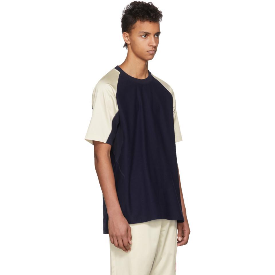 78d9846825a1 Y-3 Indigo James Harden Satin T-shirt in Blue for Men - Lyst