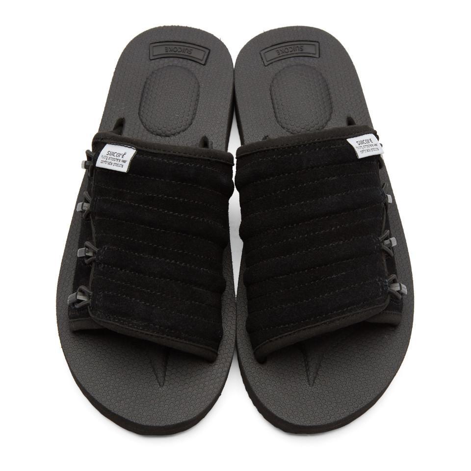 1fd41539f52f Suicoke Black Mura-vs Sandals in Black for Men - Lyst