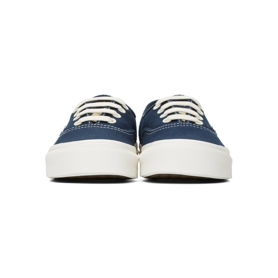 Vans Blue Og Authentic Lx Sneakers in Blue - Save 11.764705882352942 ... 78d4c52db