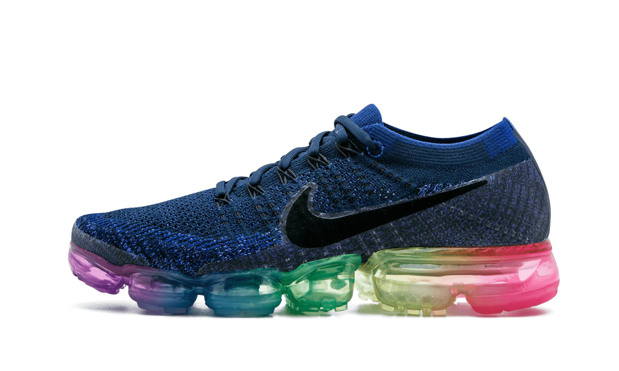 b80900997a4eb Lyst - Nike Womens Air Vapormax Flyknit Betrue in Blue