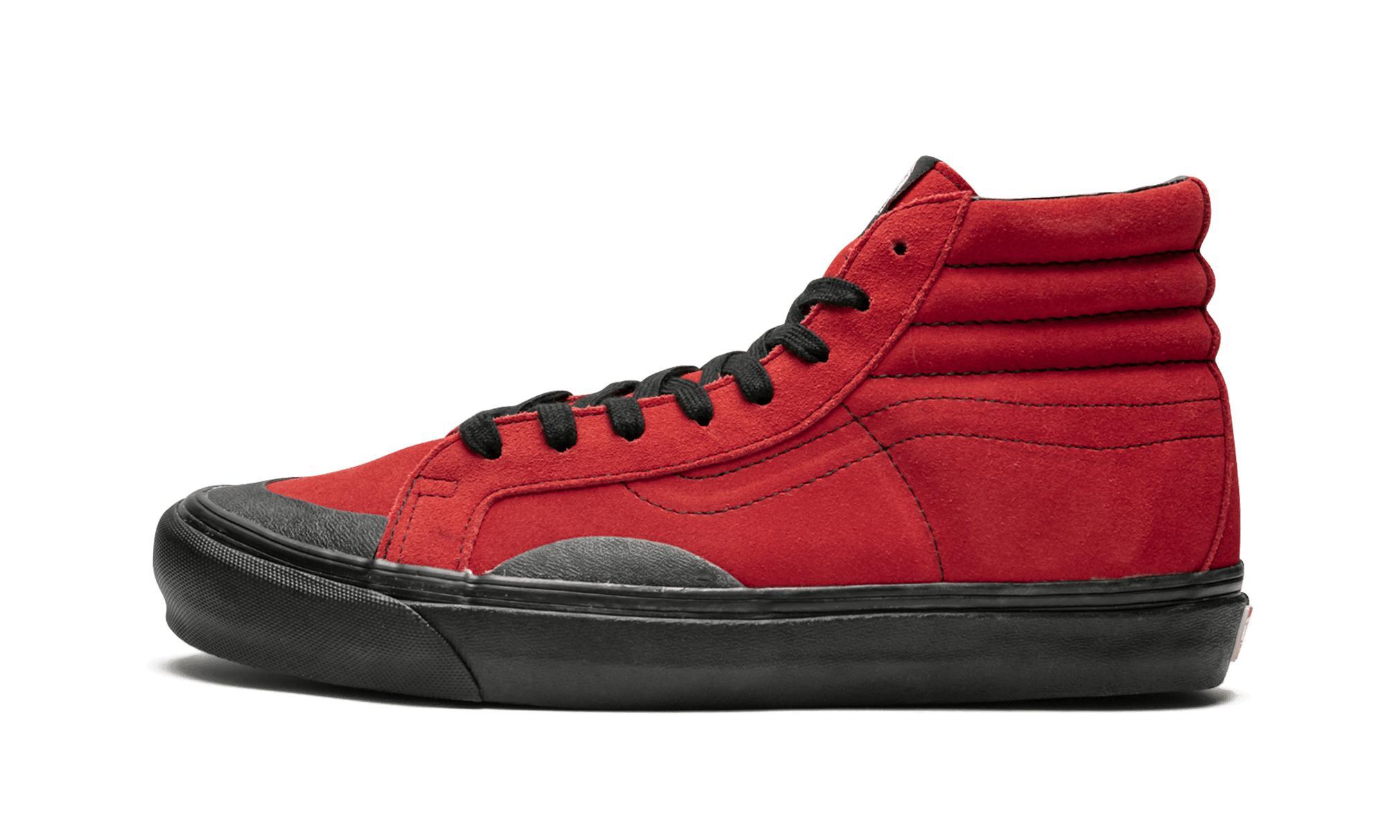 60e36213f1d762 Lyst - Vans Og Sk8-hi Lx in Red for Men